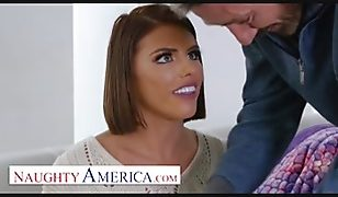 Naughty America – friend's dad anal fucks Adriana Chechik